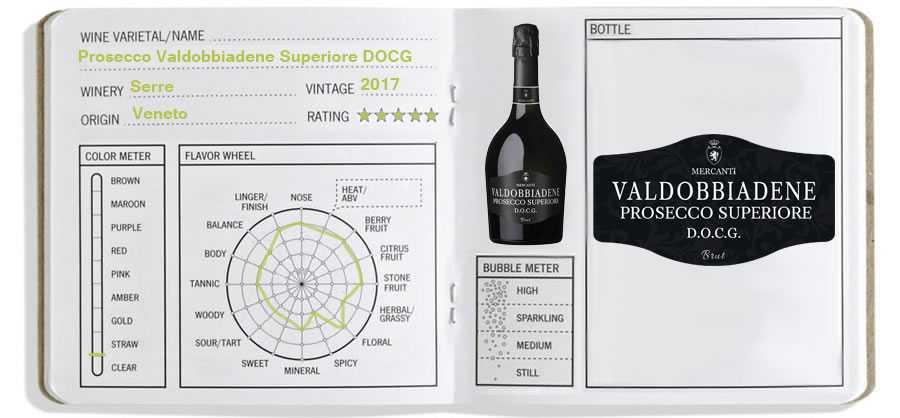 Wine Journal: Prosecco Valdobbiadene Superiore DOCG