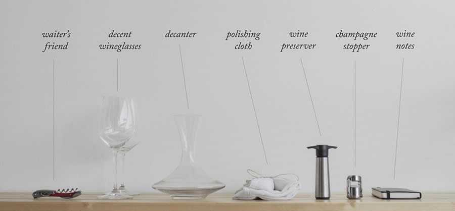 Starting from the basics wine tools you need