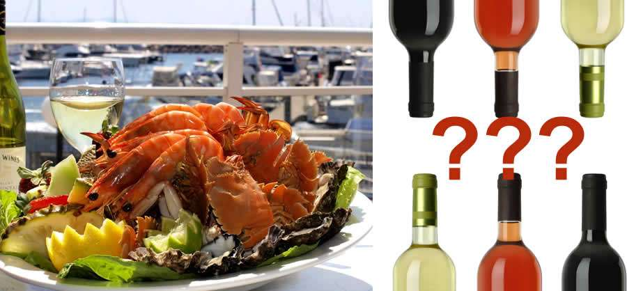 Matching wine with seafood and fish
