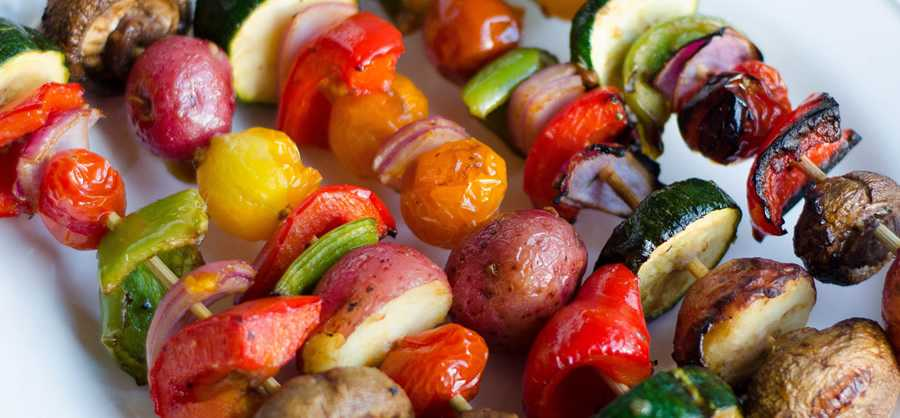 BBQ marinated vegetables